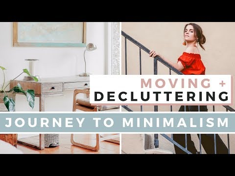 My Minimalist Apartment ✨ Moving, Decluttering, & Clear Out