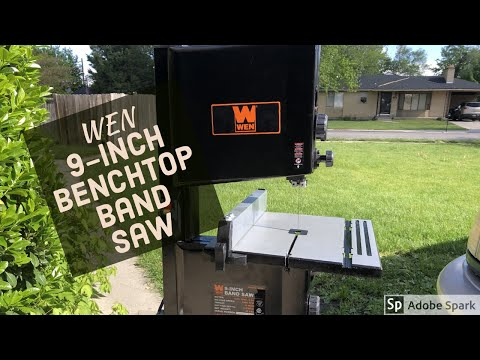wen-3959-2.5-amp-9-inch-benchtop-band-saw.-first-look,-is-it-any-good?