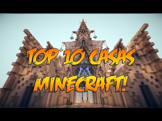 TOP 10 CASAS MINECRAFT | Construcciones |Supervivencia Videos De Viajes