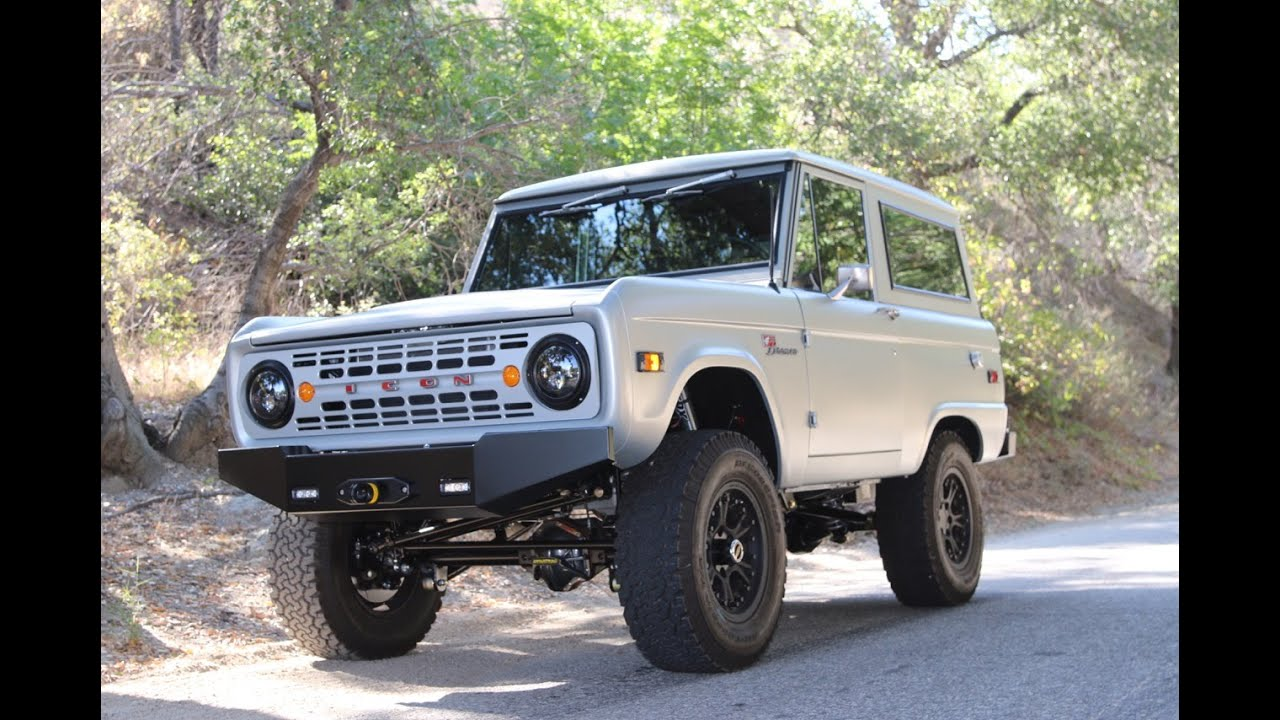 ICON BR #19 Custom Vintage Bronco - YouTube