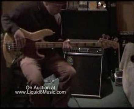 Ampeg B3 Bass Amp Demo