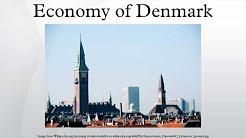 Economy of Denmark