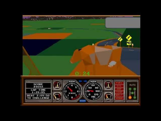 Race Drivin' Crash and Fail Compilation (Arcade)