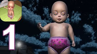 Baby in Dark Yellow Haunted House: Scary Baby Game - Gameplay Walkthrough Part 1 (Android,iOS)