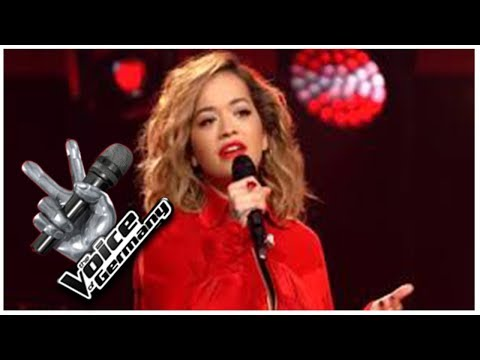 Rita Ora sings at The Voice Of Germany [HD]