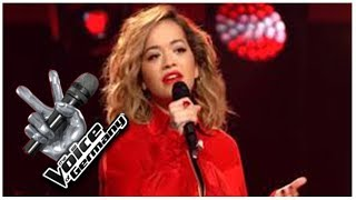rita ora sings at the voice of germany hd