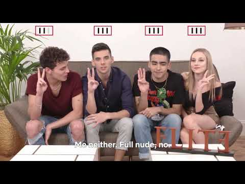 The Cast Of Elite Plays Never Have I Ever (на русском)