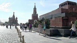 El mausoleo de Lenin reabre sus puertas ocho meses después