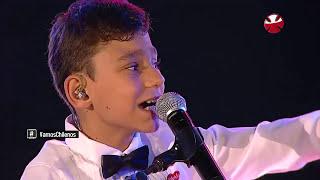 Teleton 2015 en Chile Canta Adrian Martin Vega