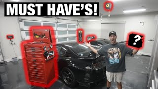 Top 10 Things you NEED for Your Garage!!!