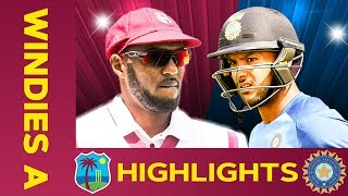 west-indies-a-vs-india-a-match-highlights-2nd-test-day-3-india-a-tour-of-west-indies
