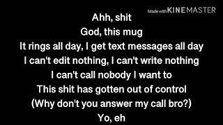 Upchurch - Don't Come Knockin (Lyrics On Screen)