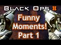 Black Ops 2 Funny Moments Montage - Try Hard Panties, PENETRATION KILL, and Marshmallow Guns!