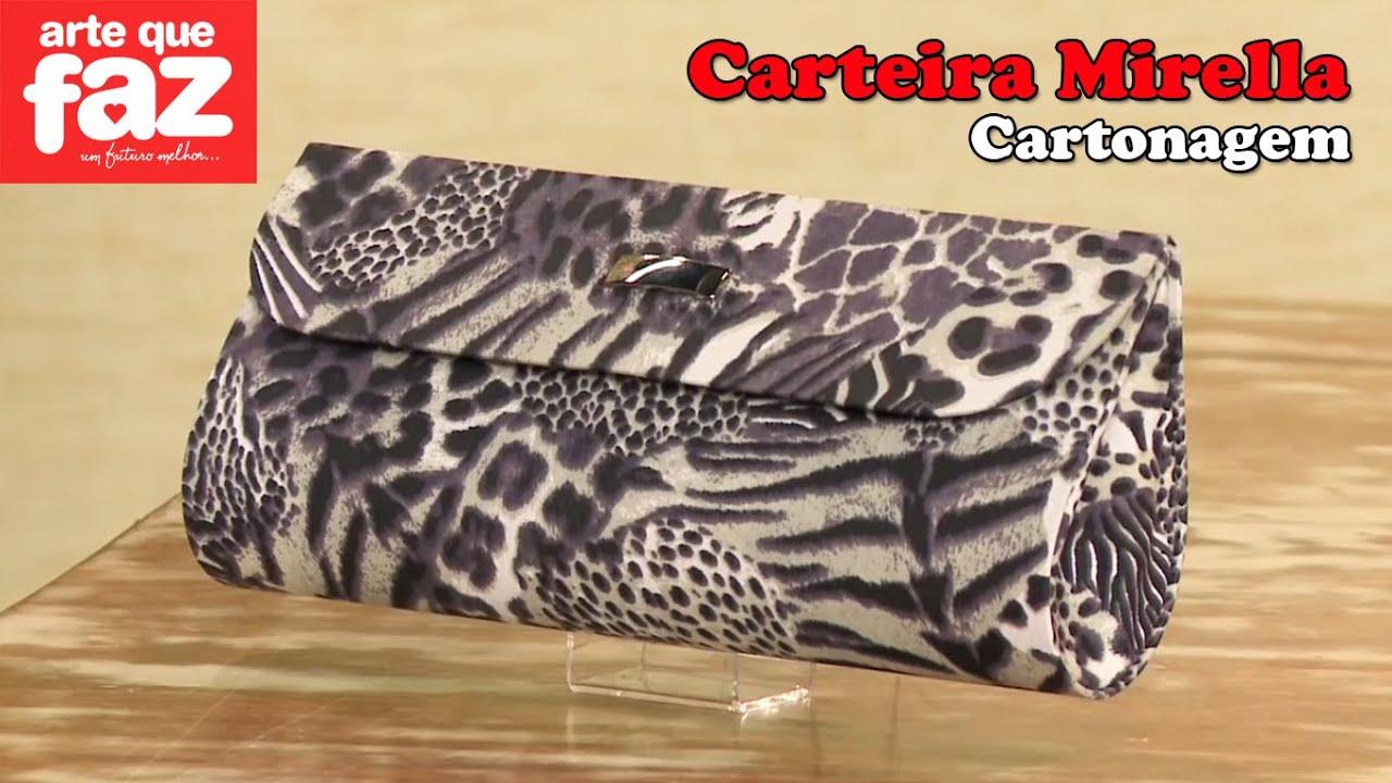 Bolsa Em Cartonagem Medidas : Diy carteira mirella em cartonagem catiane gobbi
