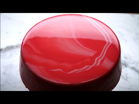 How to make a mirror glaze mousse cake