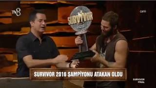 Survivor 2016'n?n Sampiyonu Avatar Atakan | Survivor 2016 Sampiyon kim oldu?
