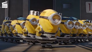 Despicable Me 3: The Minions Run the Prison HD CLIP