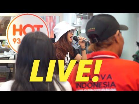 DITIKAM ASMARA - RARA LIDA (LIVE DI HOT 93.2 FM) // #BINTANGHOT - RARA LIDA