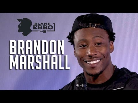 Brandon Marshall Talks Ryan Fitzpatrick, Geno Smith, Tough Lessons + Black Lives Matter