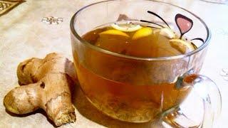 Имбирный чай / Имбирь от простуды / Имбирь для похудения