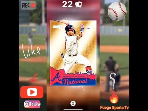 DIAMOND PACKS! Topps Bunt Baseball Cards 2019 MLB All Star Game Mega Pack Opening #FuegoSportsTv