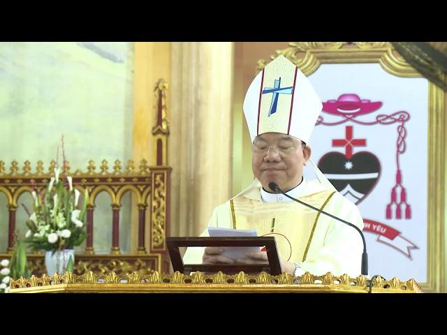Đức Cha Giuse Vũ Văn Thiên - Bài giảng tại Thánh lễ thành lập Giáo phận hà Tĩnh