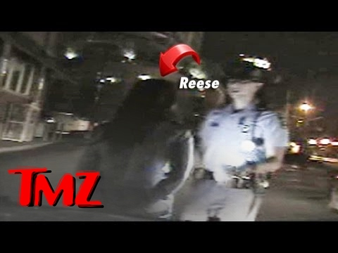 Reese Witherspoon Arrested Video -- 'I'm Reese Witherspoon ... This Will Be National News' | TMZ