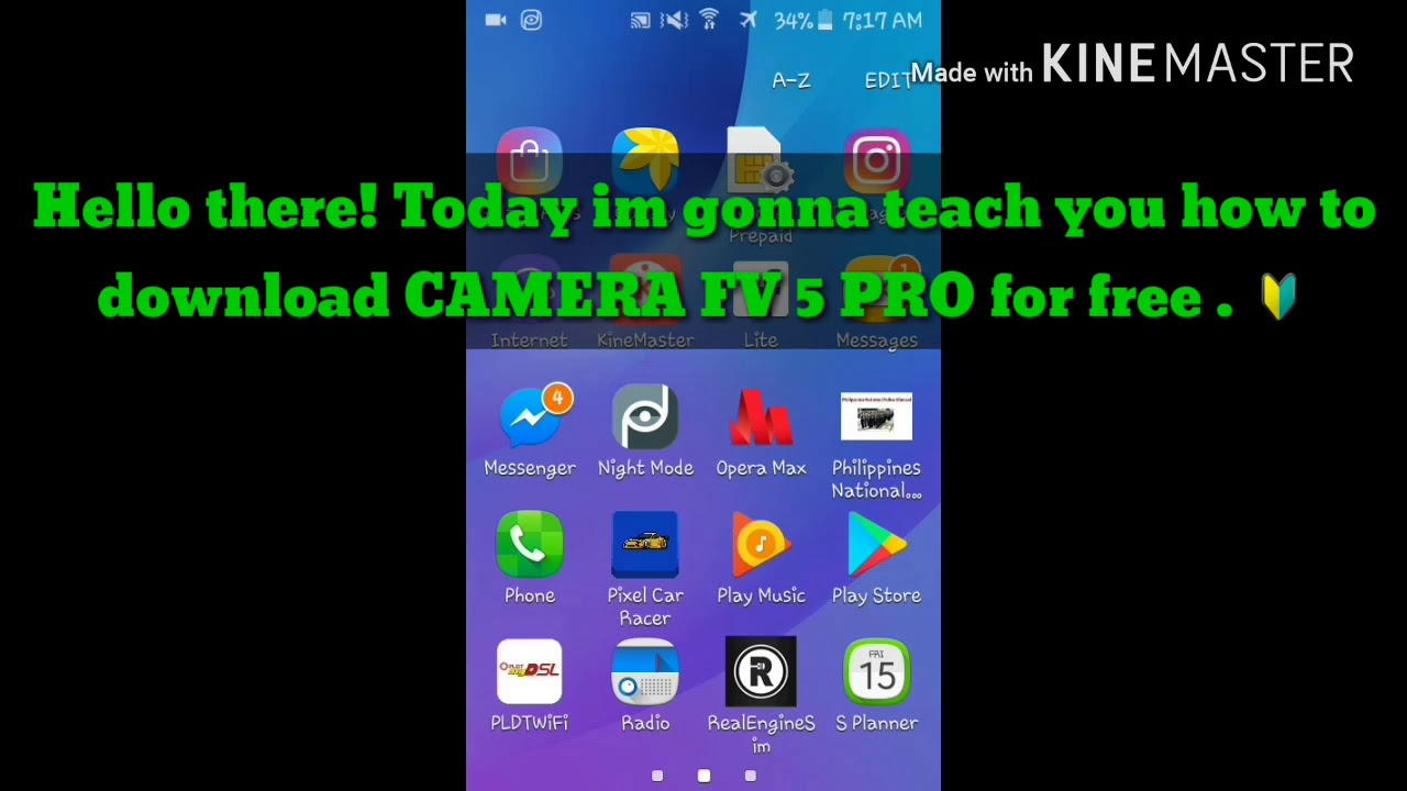 Camera Fv 5 Pro Download For Free Youtube