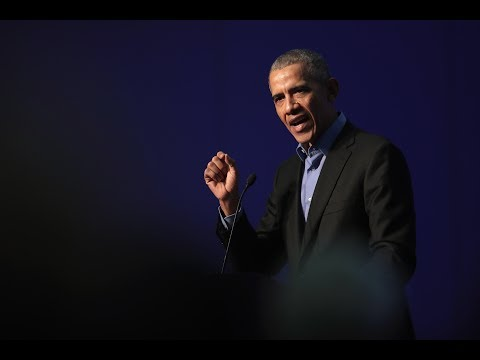 President Obama delivers the Nelson Mandela Lecture in South Africa