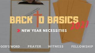 Back To Basics: Fellowship