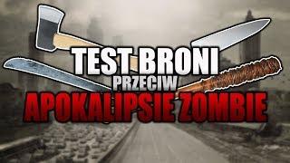 TEST Domowych BRONI Przeciw ZOMBIE !