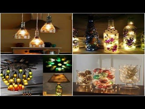 Decorative Crafts Ideas |  BEST DIY LIGHTING DECORATION