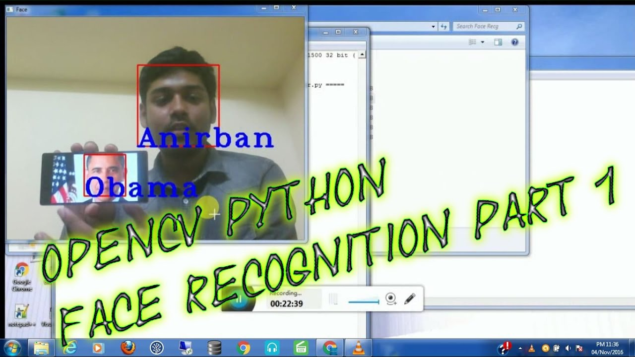 Face Recognition - OpenCV Python | Dataset Generator | The