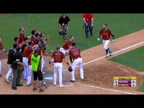 Descalso Belts Walk-off Homer Into The Pool
