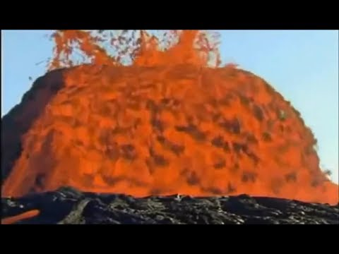 Mega magma/lava overspill !!