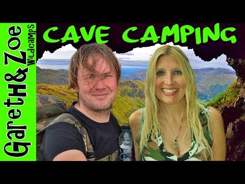 Priests Hole Cave...... The Lake District.... Cave camping, Helvellyn & priests hole.