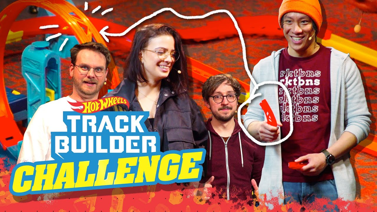 Spannende Herausforderungen vorprogrammiert! | Hot Wheels Track Builder Challenge