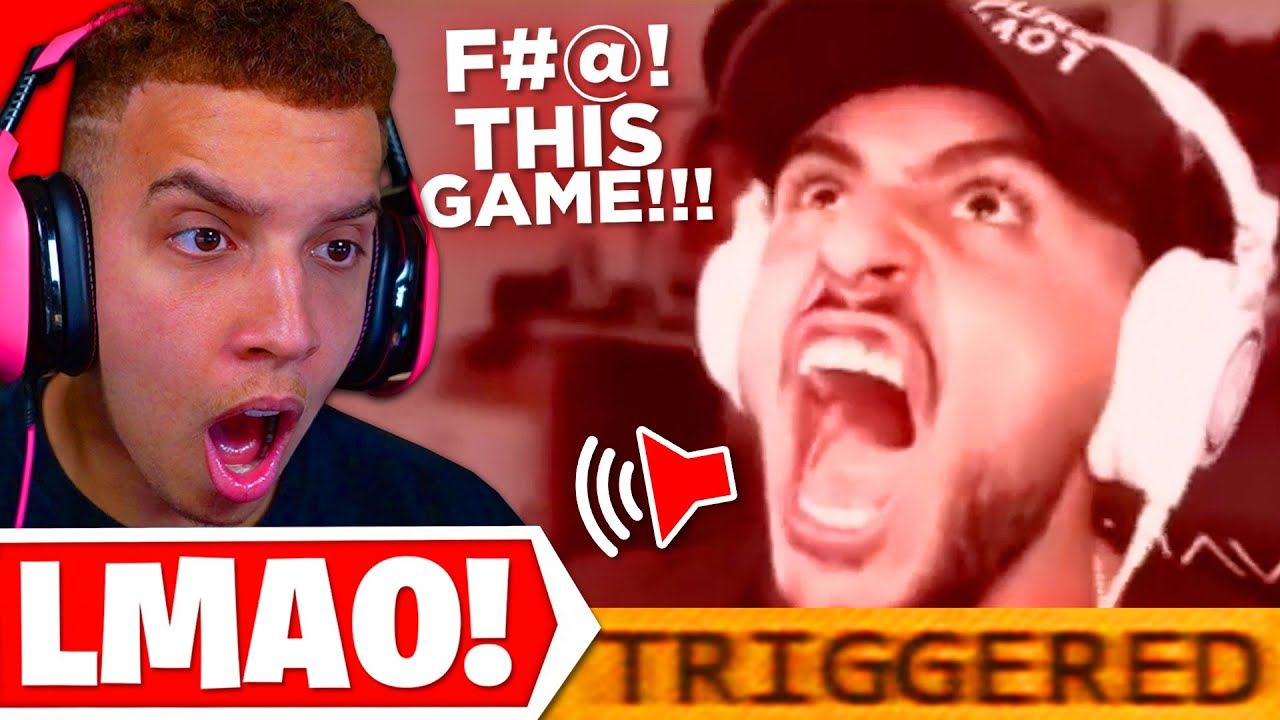 Reacting to FUNNY WARZONE RAGE MOMENTS from TWITCH STREAMERS!