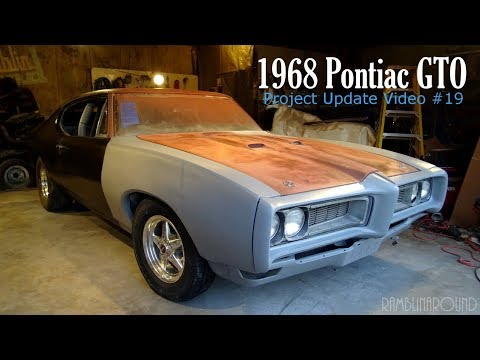 1968 Pontiac GTO Project Update - Video #19 - Roll Cage, Racing Buckets