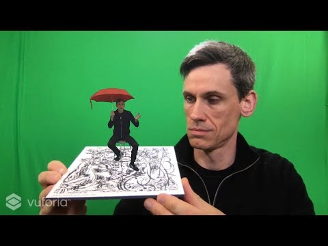 AR Video with alpha channel: Premiere CC 2017, Unity3D 2017.3, Vuforia 7