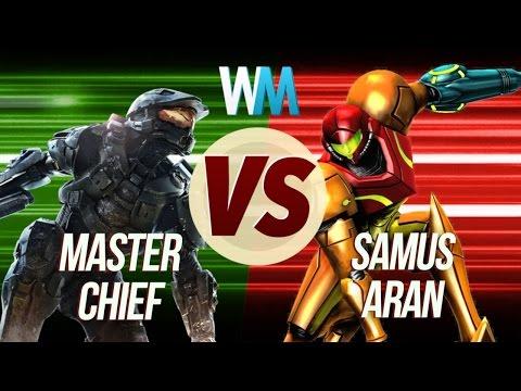 Master Chief Vs Samus Aran!