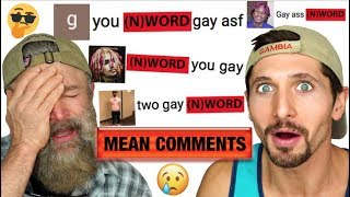 Baixar Reacting To Our Mean Comments - GETTING CALLED (N) WORD & (F) WORD!