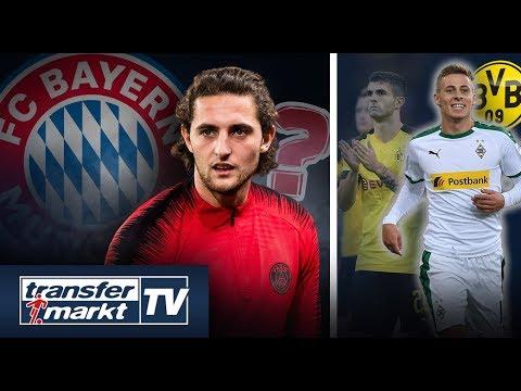 Wintertransfer? Bayern bietet für Rabiot – Hazard zum BVB dank Pulisic-Transfer? | TRANSFERMARKT