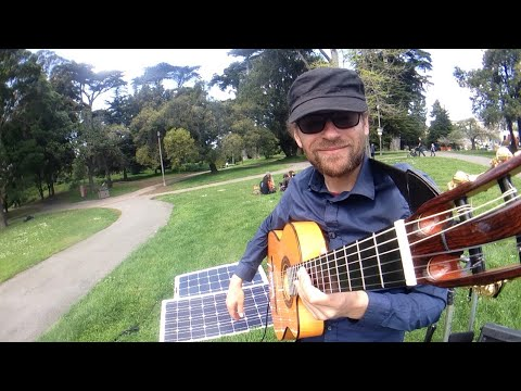 Live - Golden Gate Park - San Francisco Bay -  tip to support the artist thx!