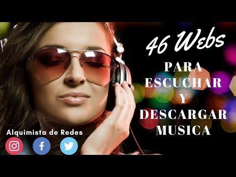 46 WEBS PARA ESCUCHAR Y DESCARGAR MÚSICA GRATIS