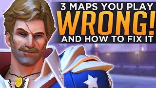 Overwatch 3 Maps EVERYONE Plays WRONG