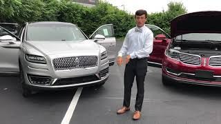 Lincoln Nautilus vs MKX comparison