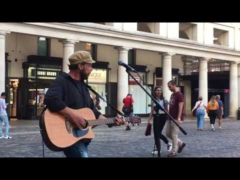*NEW* The Pogues, Dirty Old Town (Rob Falsini cover) - busking in the streets of London, UK