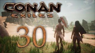 Conan Exiles - прохождение игры на русском - Сепермеру, город Сета [#30] | PC