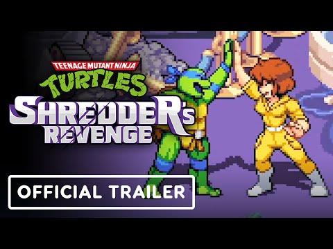 Teenage Mutant Ninja Turtles: Shredder's Revenge - Official April O'Neil | gamescom 2021